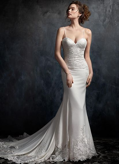 1729 n long white dress