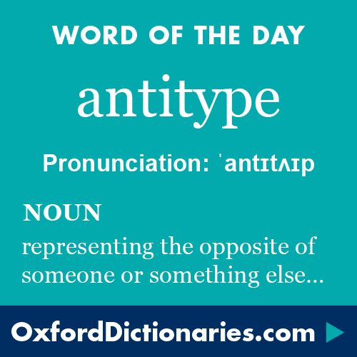 Define the word antithesis