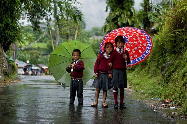 The monsoon occurs from November through February. Summer on the east coast of the peninsula (Kota Bharu) and East Malaysia (Dandakan, Kuching) remain very sunny with little rainfall.