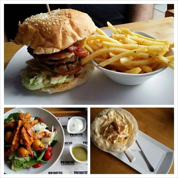 Two of the delicious choices available on the Primi Piatti menu #lunch #primi