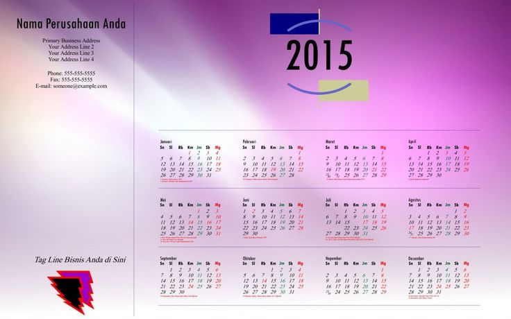 Kalender 2015 Indonesia - Design_34_Punctuation