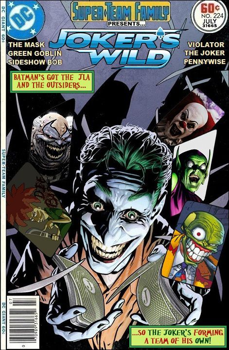 Super-Team Family: The Lost Issues!: Joker's Wild