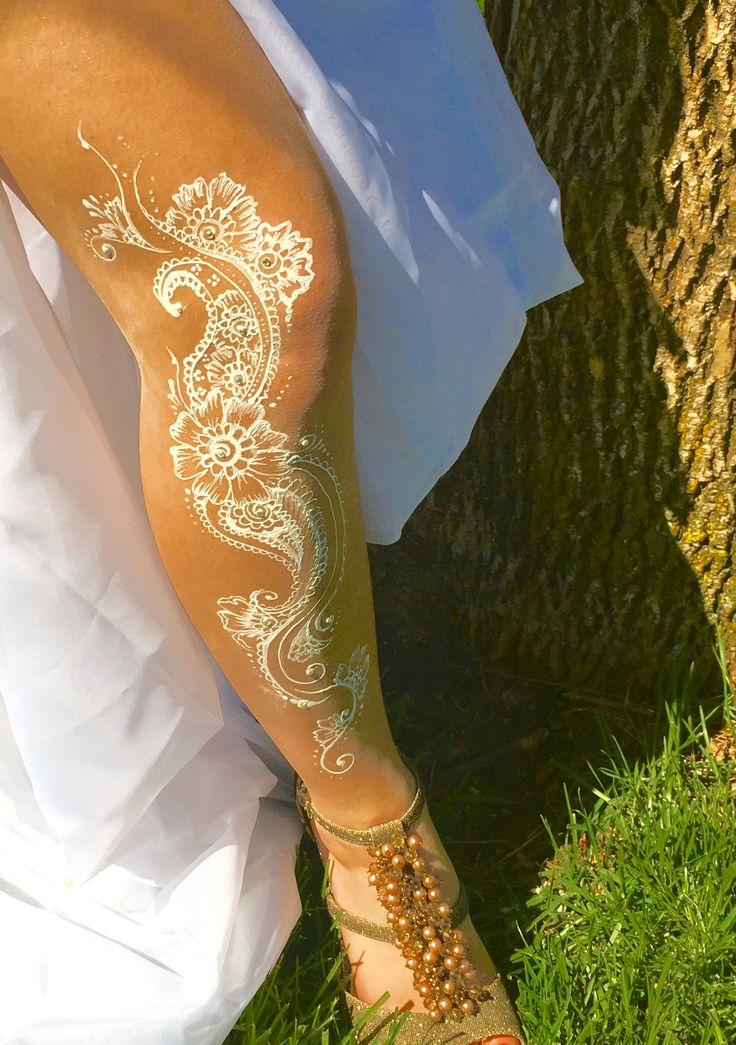 25 best ideas about white henna on henna