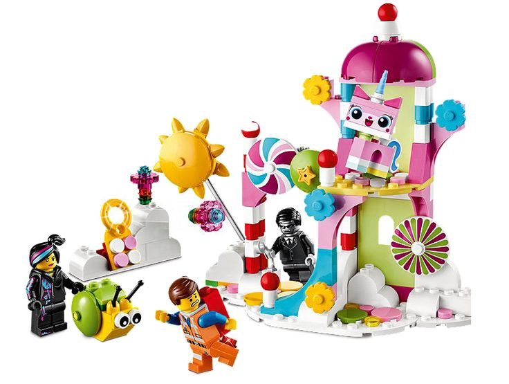 Lego Movie Sets: Cuckoo Cloud Palace. (Our kids are begging for this one.)