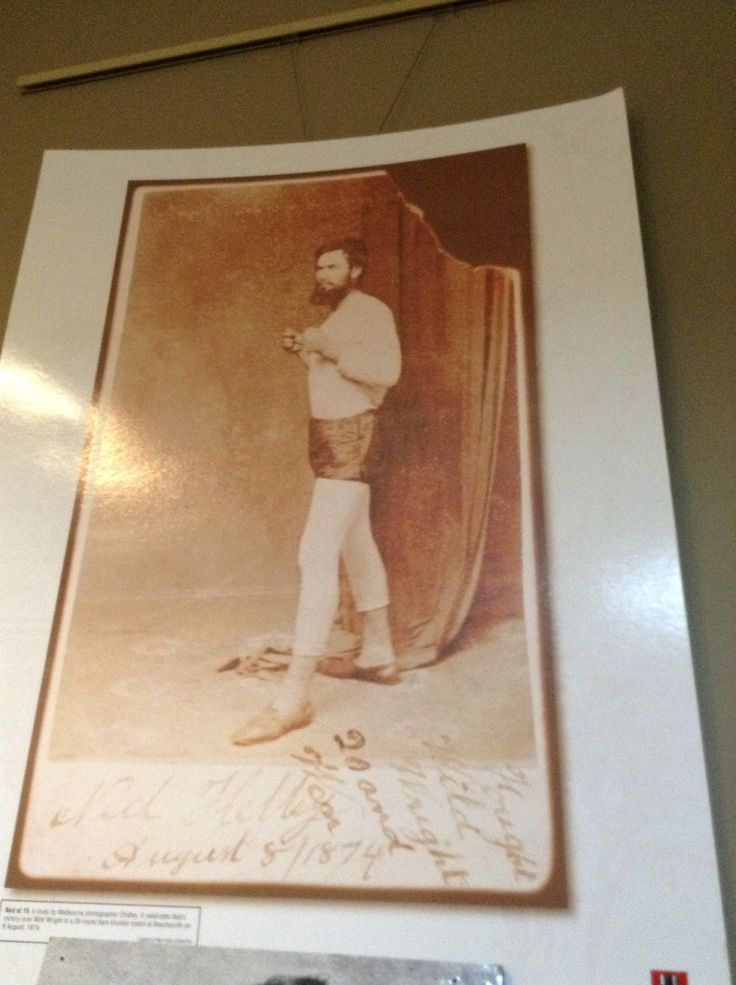 Ned Kelly's boxing days