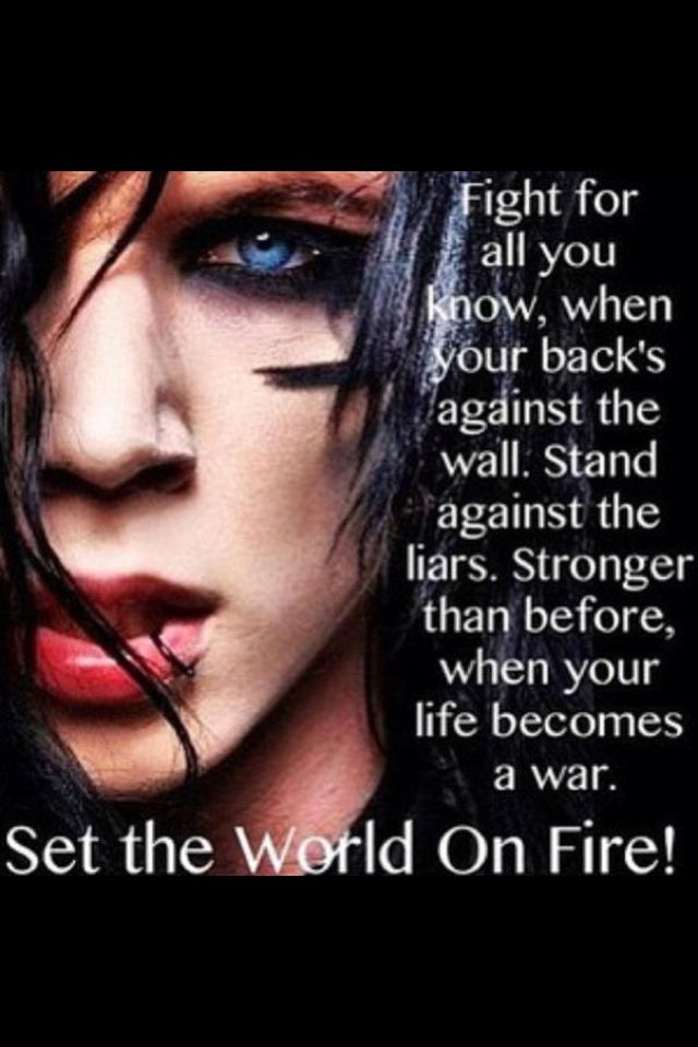 Andy Biersack| Black Veil Brides - Set the World on Fire                                                                                                                                                     More