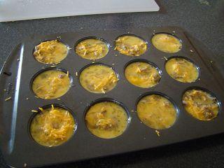 cupcake quiche. (disney junior tasty time with zefronk)