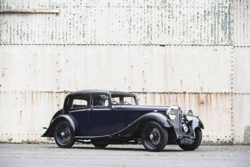 1934 Lagonda M45 Rapide Close-coupled Pillar-less Saloon