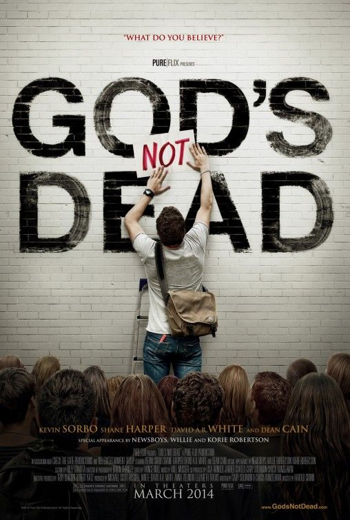 God's Not Dead Movie Coming to Theaters - Learn More on CFDb. http://www.christianfilmdatabase.com/review/gods-not-dead-the-movie/