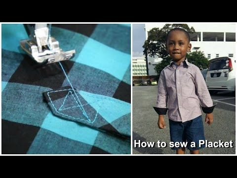 How to Sew a Cuff Placket | Sew Mama Sew | Outstanding sewing, quilting, and needlework tutorials since 2005.