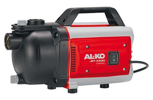 AL-KO Jet 3300 Pompe de jardin: Price:99.9Bon rapport qualité/prix, pour l'arrosage à partir d'un puit, d'une citerne, ou d'une tonne de…