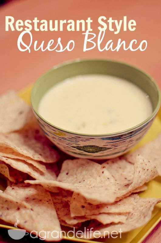 Super Easy Restaurant Style White Queso Dip Food Com