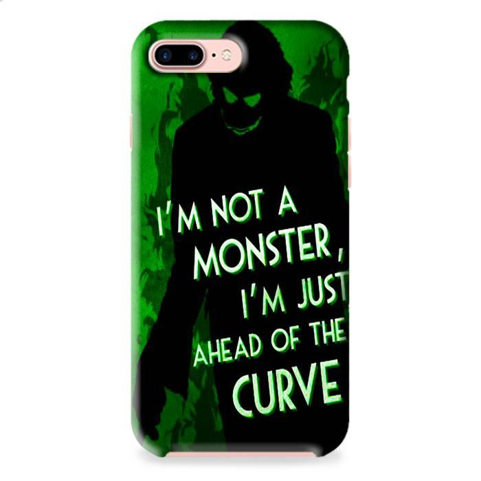 Joker Quote Batman Villain iPhone 7 3D Case Dewantary