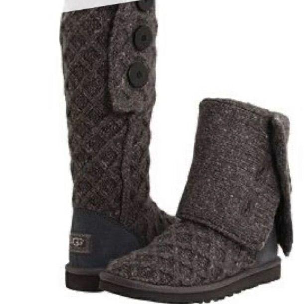 Sold Lattice Cardy Ugg Australia Knit Boots Ugg Lattice Cardy Ugg Boots Boots