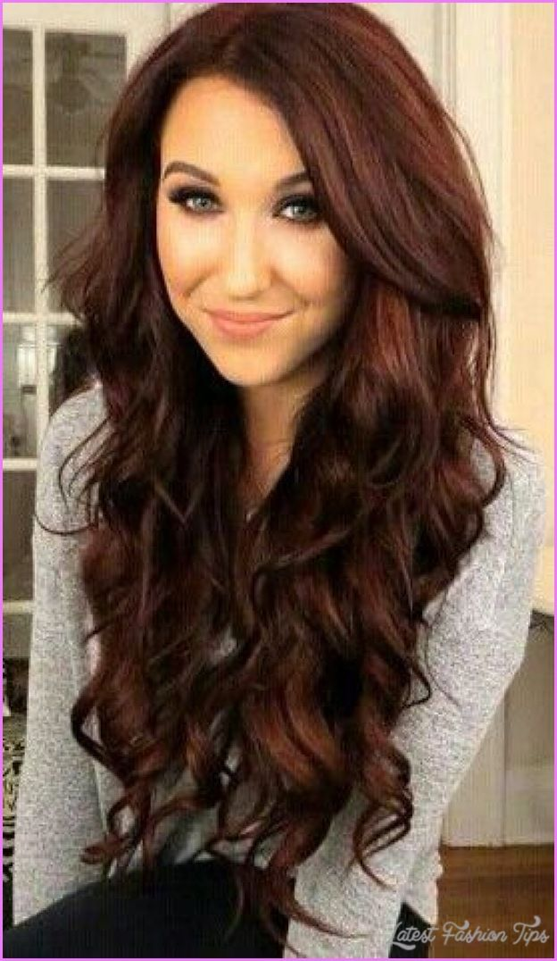 cool Brownish red hair color