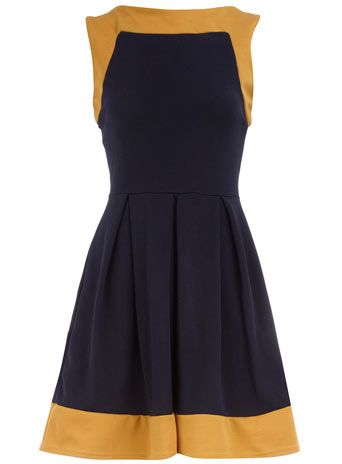 navy dress, so cute and only 57.00