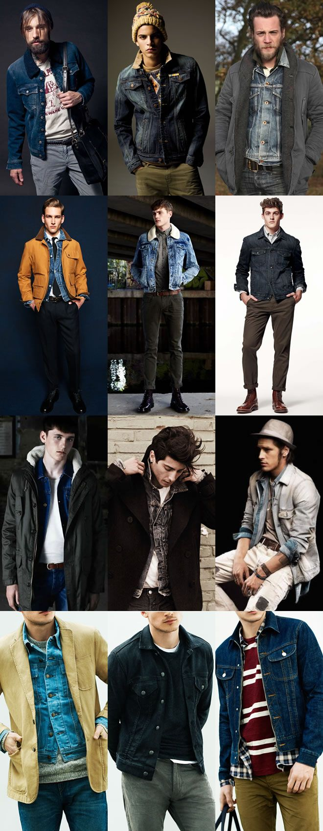 As a layering option, the denim jacket is a great way to add texture to your look – a vital ingredient of successful, stylish layering.