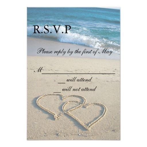 165 best Wedding RSVP Cards images – Wedding Invitations with Rsvp Cards