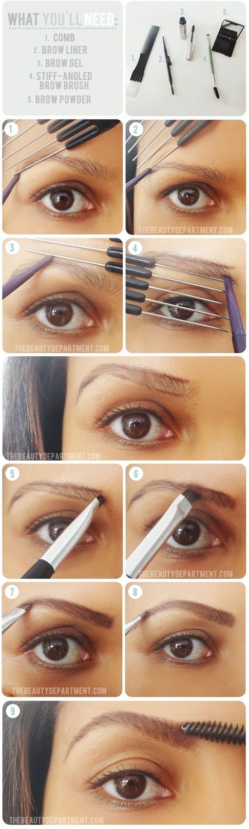 Glam Radar | Tips for Getting the Perfect Brows: