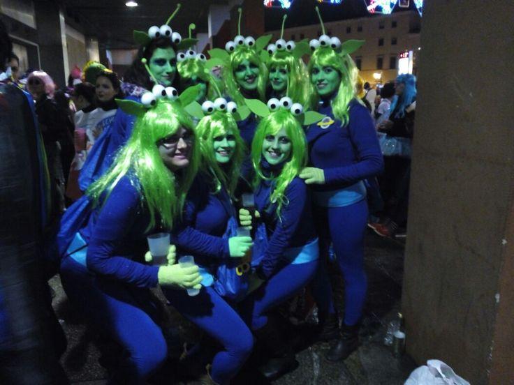 Marcianito Toy Story diy alien marciano marciana disfraz casero Carnaval Badajoz 2015 carnival costume el gancho the claw estamos agradecidos oh