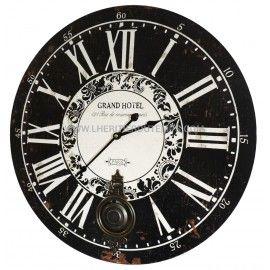 1000 id es sur le th me horloges de bois sur pinterest - Horloge murale design grand format ...