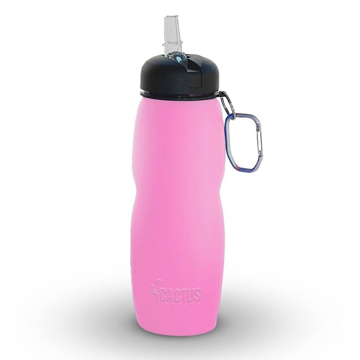 Mother's Day gift - new pink color available at http://www.amazon.com/Cactus-Collapsible-Water-Bottle-Eco-Friendly/dp/B00LTU0FB4/
