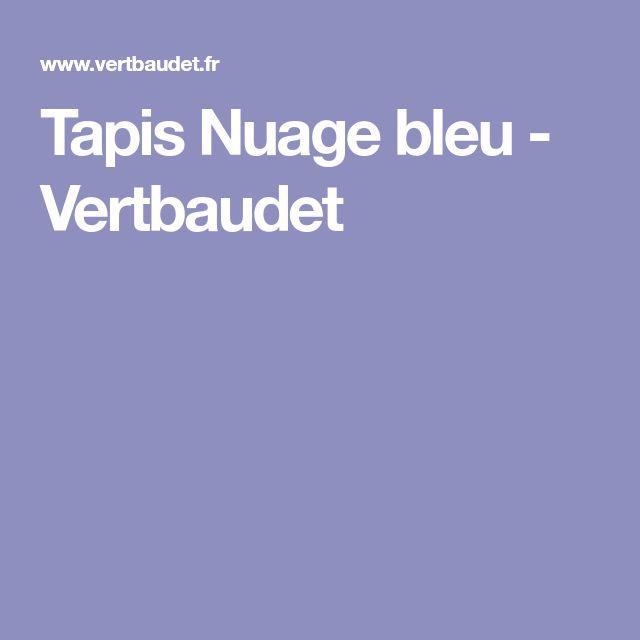 Tapis Nuage bleu - Vertbaudet