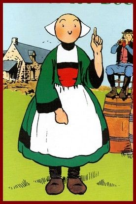 Bécassine, personnage breton de littérature jeunesse, 1905, la Semaine de Suzette