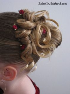 The 25 best little girl updo ideas on pinterest flower girl 25 totally pretty holiday hairstyles for little girls pmusecretfo Gallery