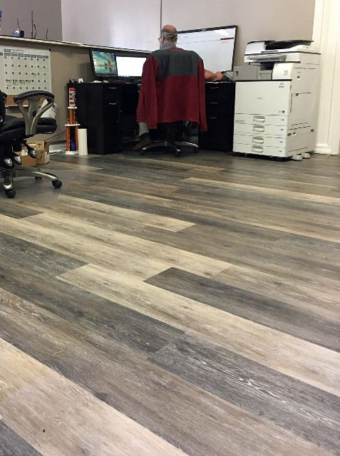 Coretec Plus In Alabaster Oak Vinyl Plank Flooring