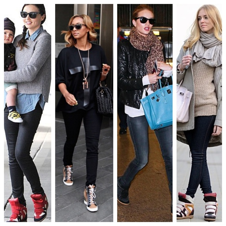 with sneaker wedges