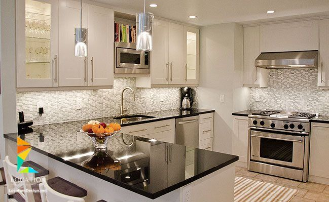 ديكورات مطابخ 2018 2019 فخمة جدا Ikea Kitchen Design Small White Kitchens Kitchen Design Modern White