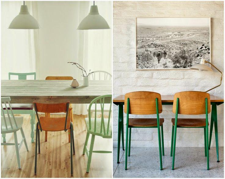 Allspice Design: Rainbow chairs