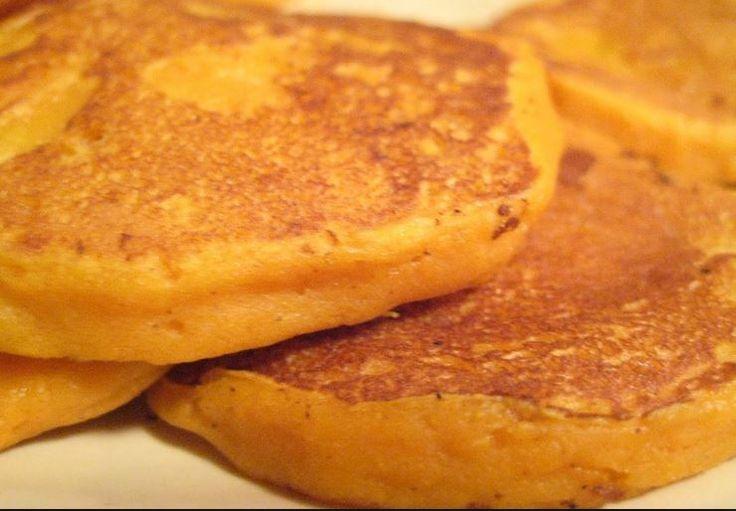 Sweet Potato Vanilla Pancakes