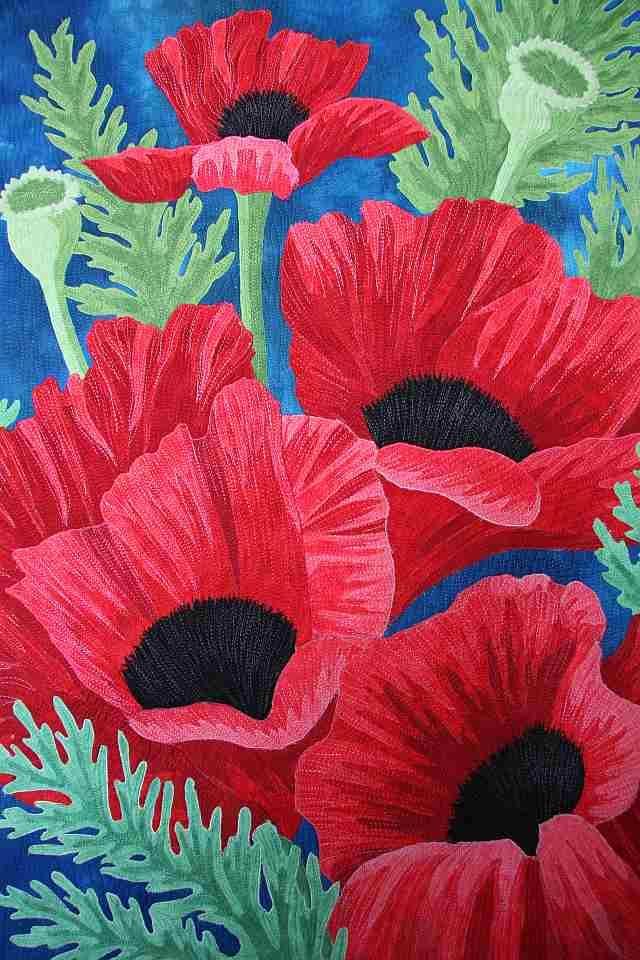 Quilt by Veronica von Zwehl - gorgeous