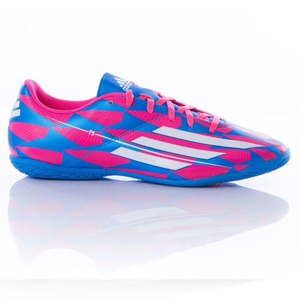 Bota Fútbol Sala ADIDAS F5 CRO Hombre Rosa Blanco Azul