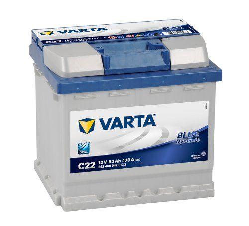VARTA 5524000473132 Batterie de démarrage: BATTERIE AUTOMOBILE VARTA BLUE DYNAMIC Les batteries automobiles VARTA Blue Dynamic sont les…