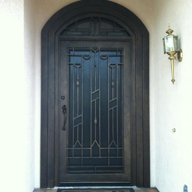 Heavy duty security door that's classic & beautiful