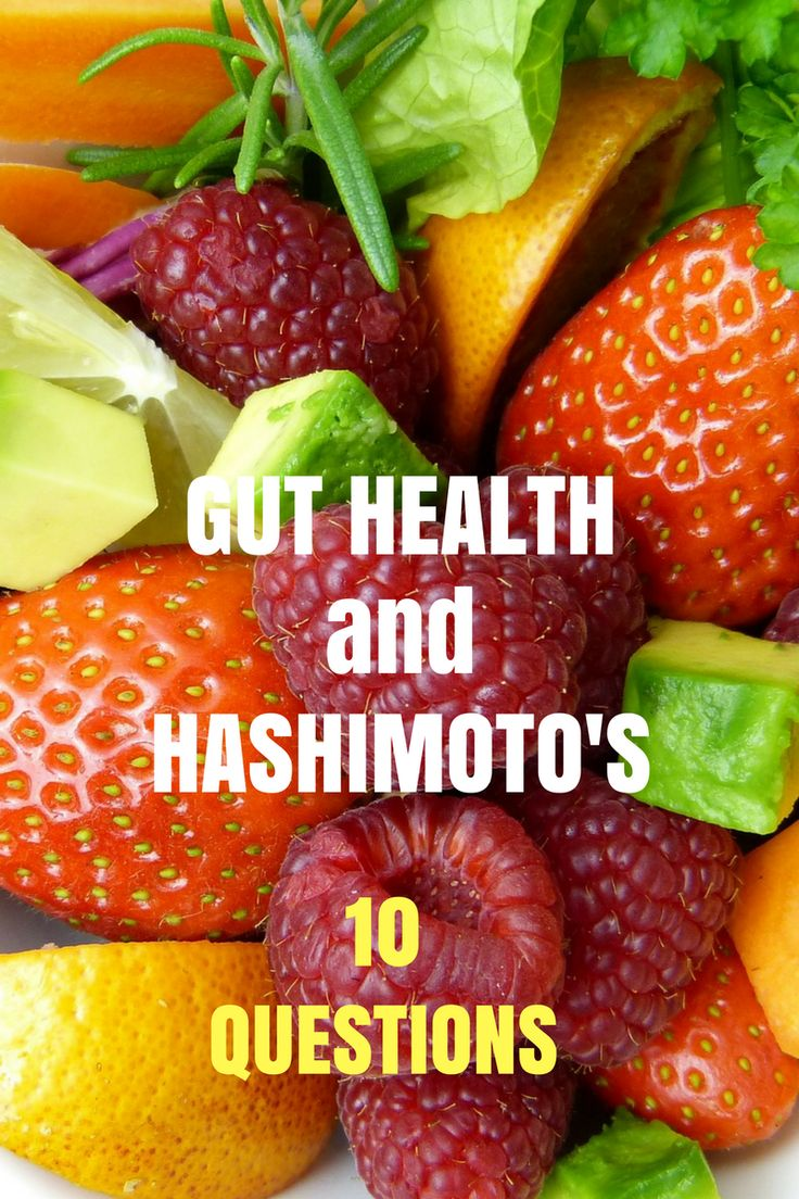 Here are 10 questions to ask yourself about your gut health and Hashimoto's disease.