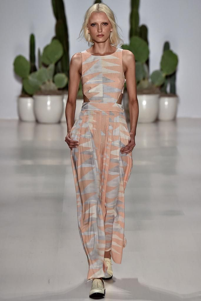 Mara Hoffman Spring 2015 Ready-to-Wear - Collection - Gallery - Look 1 - Style.com