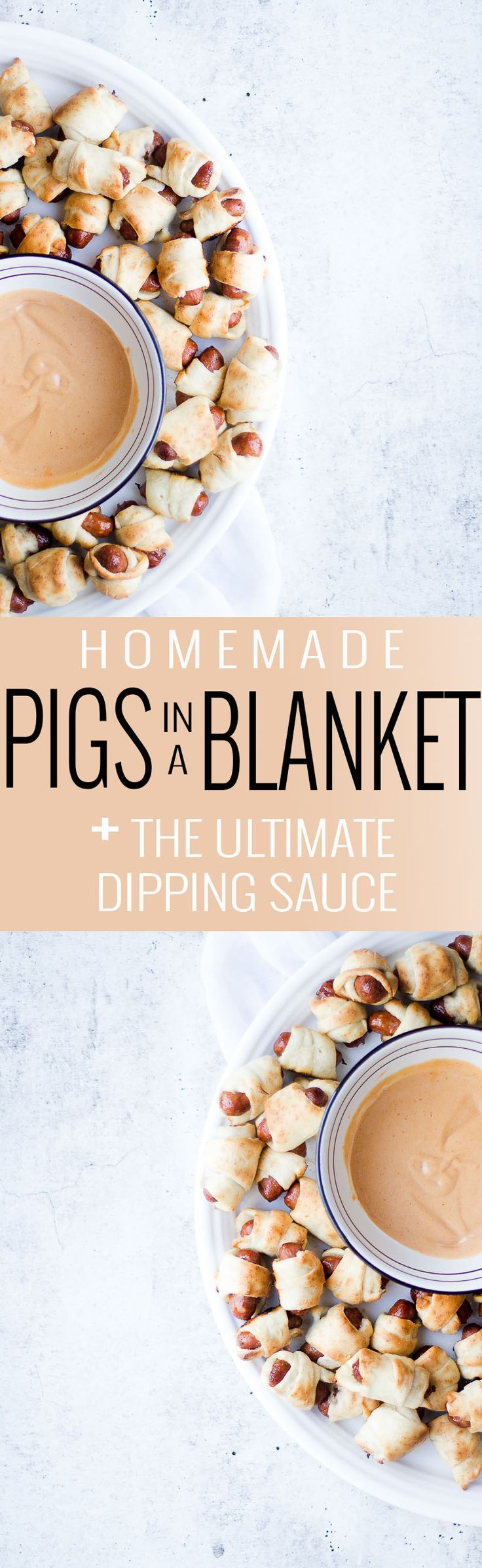 Homemade Pigs in a Blanket | how to make pigs in a blanket | pigs in a blanket recipe | easy appetizer recipes | recipes using hot dog | hot dog recipe ideas | kid friendly recipes || Oh So Delicioso