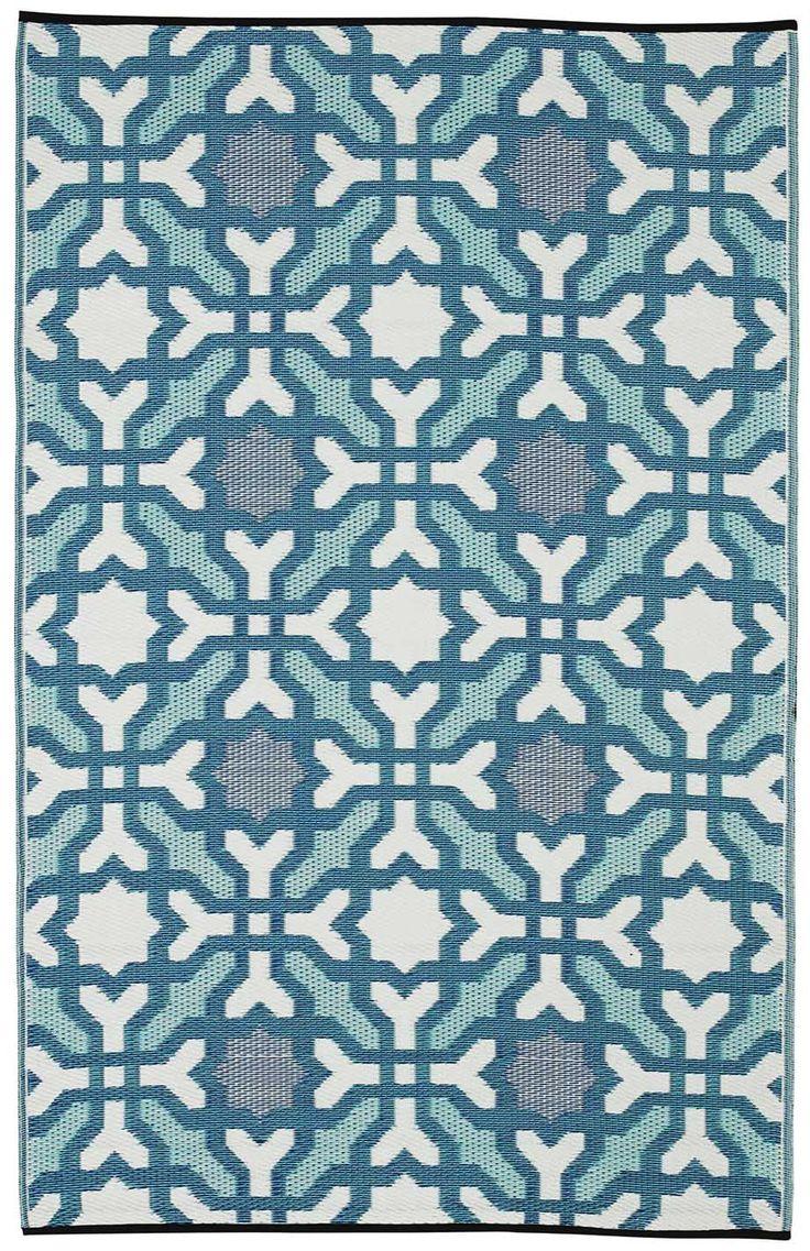 49 best outdoor rugs images on pinterest indoor outdoor rugs fab habitat seville blue outdoor rug garden decor mediterranean garden outdoor rugsindoor baanklon Gallery