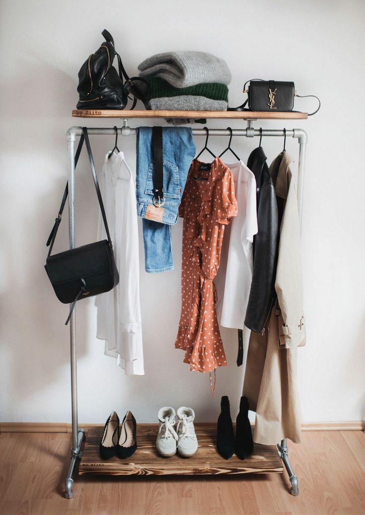 Capsule Wardrobe / Baza mojej garderoby - Jestem Kasia Blog
