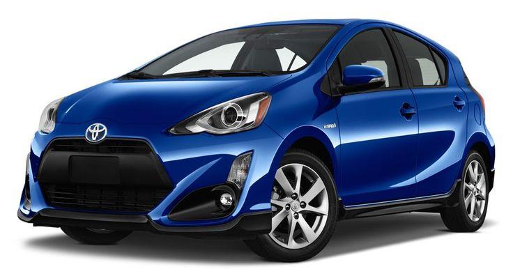 Hybrid 2017 Toyota Prius C Hatchback Gets Fresh Styling, Standard Safety Tech #Hybrids #New_Cars