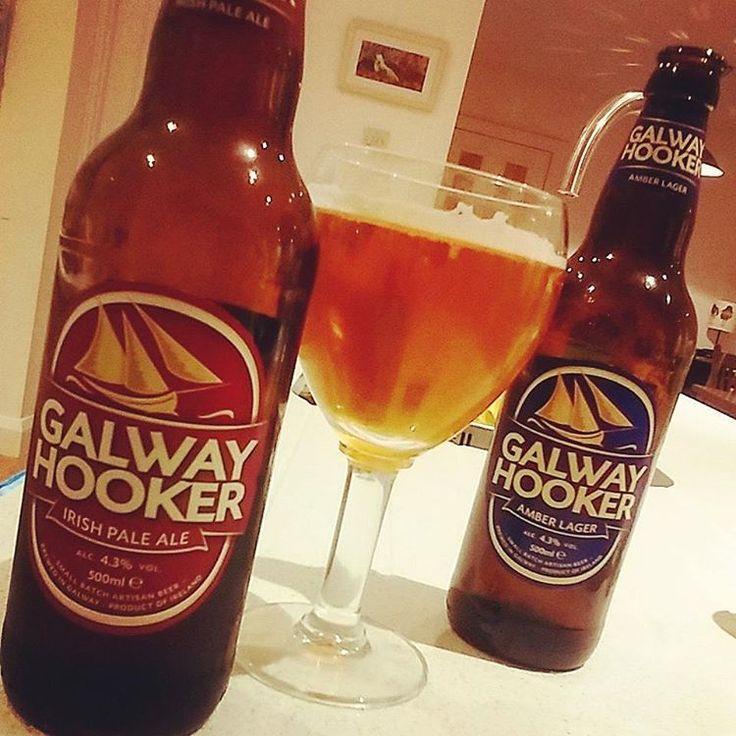 ..teamed up with a pair of hookers tonight!  #irishpaleale #ipa #ireland #bottles #irishcraftbeer #craftbeer #beersoftheworld #beer #öl #pivo #booze #galway #tgif #fridaysbrew #brew #booze #photo #beersofireland #olut #ineedthis #connaught #galwayhooker #friday #galwaycraftbeers #galwaybrewery #oranmore