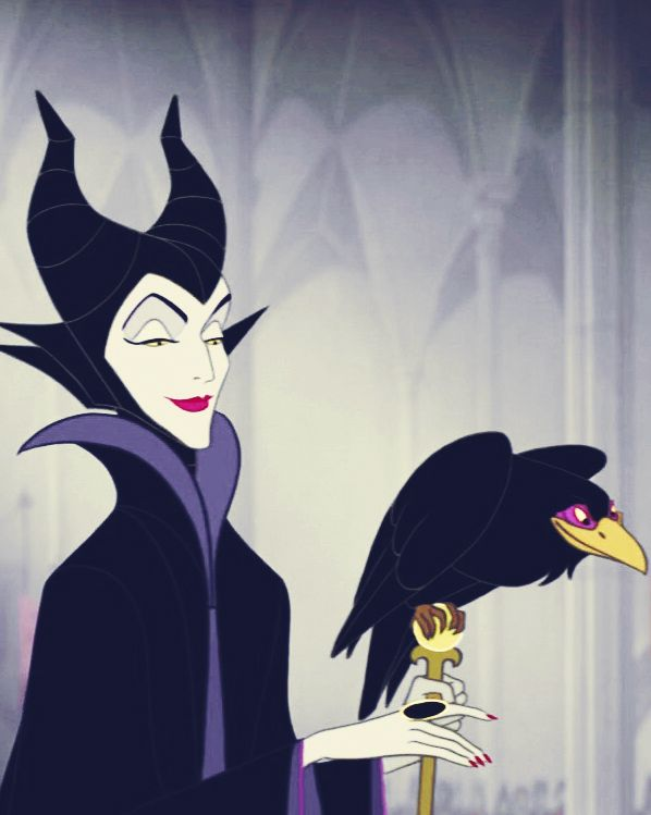 Maleficent. Poise, passion, and dedication.  Who could ask for a better role model?