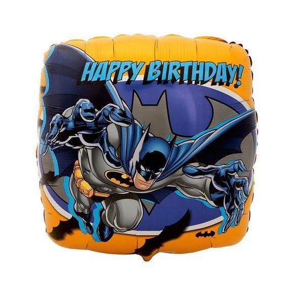 Batman Birthday Party Balloon