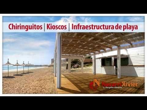 Kioscos NavarrOlivier Video de instalaciones desmontables de temporada construidas en madera para exterior.  #video #spot #kioscos #chiringuitos #guinguetas #guingueta #temporada #madera #carpinteria #playa #hosteleria