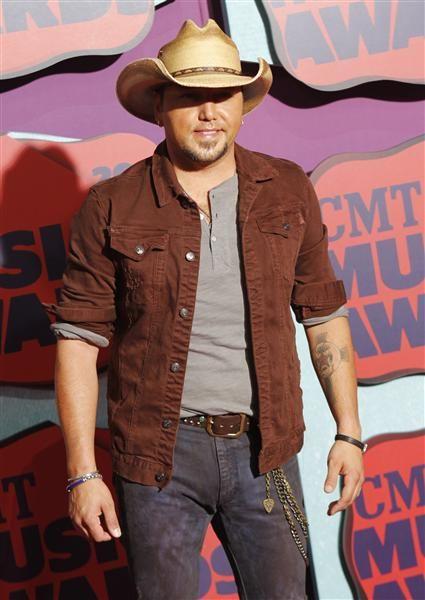 Jason Aldean attends the 2014 CMT Music Awards at the Bridgestone Arena in Nashville, Tenn., on June 4, 2014.