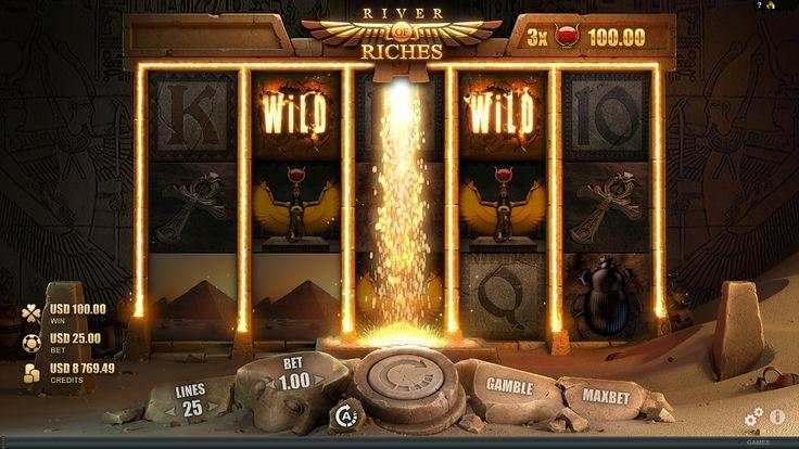 River Of Riches online slot - http://www.royalvegascasino.com/casino-games/